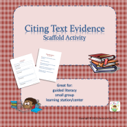 Citing Textual Evidence Scaffold TWITTER