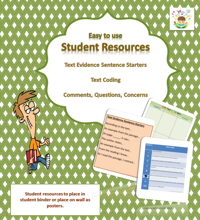 3 Student Resources – Literacy Art by Iris